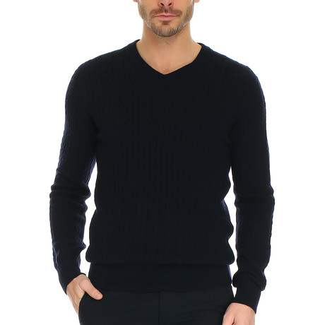 Louie Knitwear // Dark Navy (S)