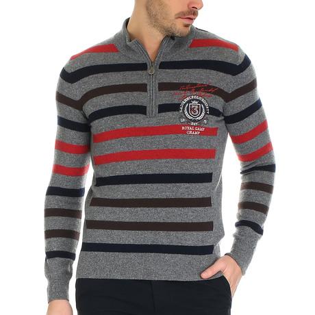 Norina Knitwear // Rose Wood + Multi Striped (S)