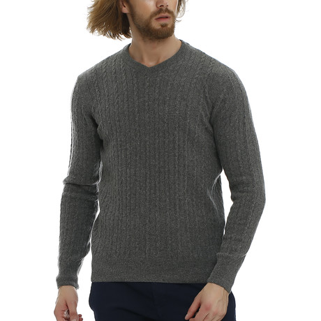 Louie Knitwear // Grey Melange (S)