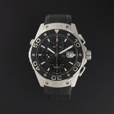 Tag Heuer Aquaracer Chronograph Automatic // CAJ2110 // Pre-Owned