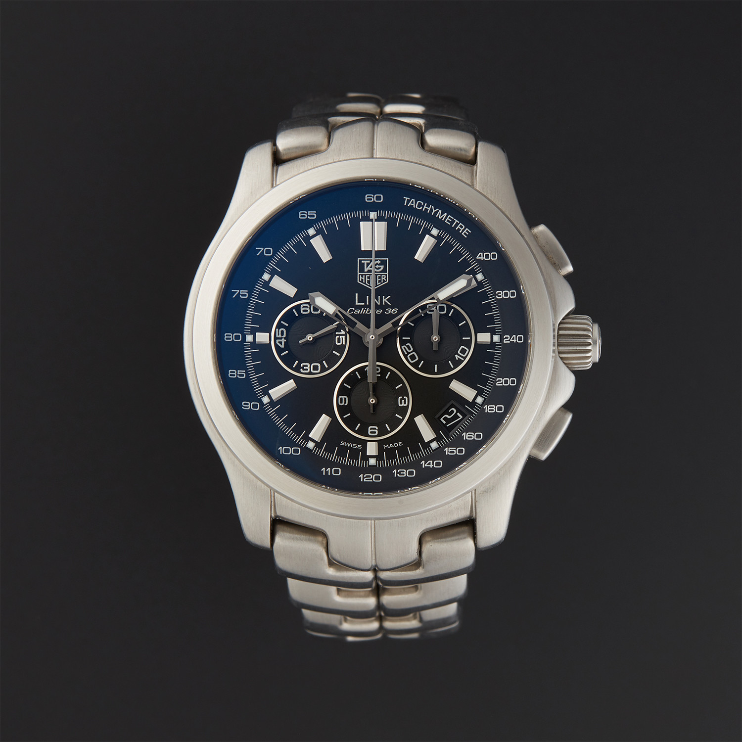 63df0280e1c Tag Heuer Link Calibre 36 Automatic // CT511A // Pre-Owned ...