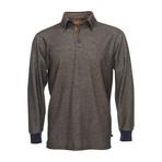 Nicholas Long-Sleeve Polo // Olive (XL)