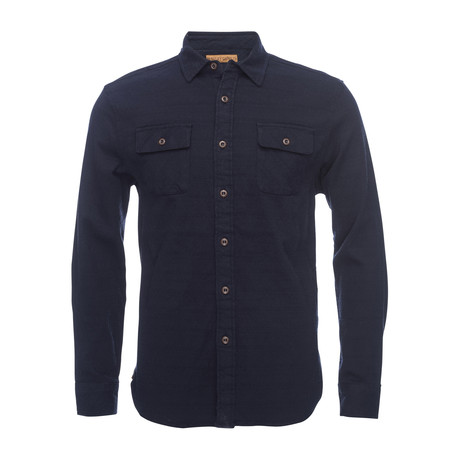 Truman Outdoor Shirt // Navy (XS)