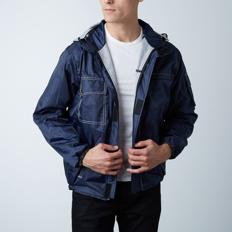 Bomber Jacket // Blue (Small)