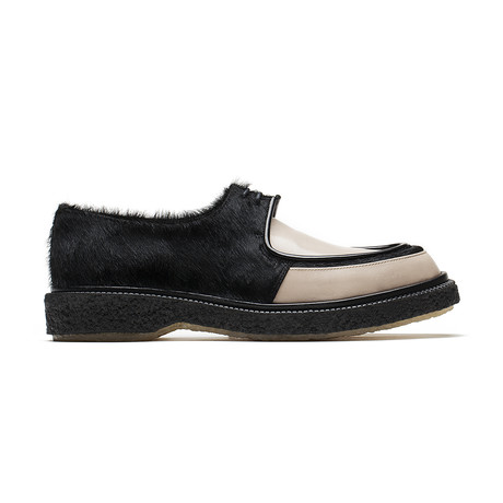 Lace-Up Creepers Derby // Pony Black + Grey (Euro: 39)