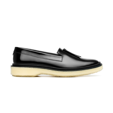 Leather Slipper // Black II (Euro: 39)