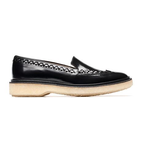 Leather Slipper // Black (Euro: 39)