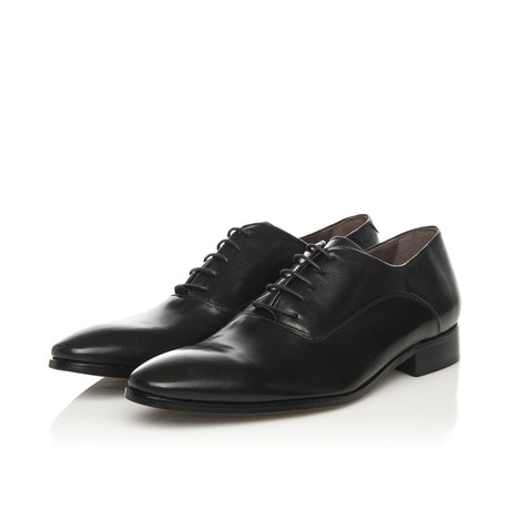 Oxford Lace-Up Classic Dress Shoe // Black (Euro: 39)