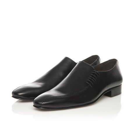 Sleek Slip-In Dress Shoe // Black (Euro: 39)