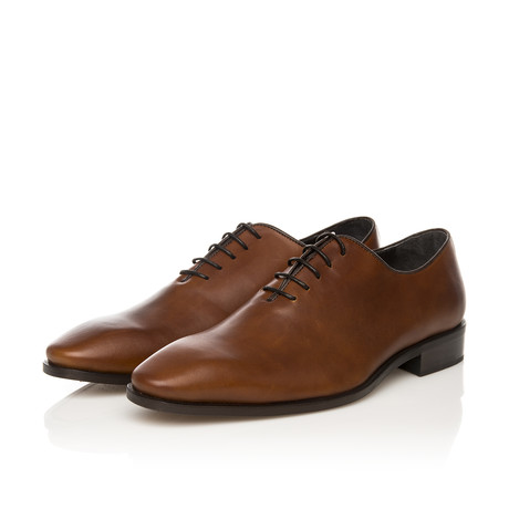Oxford Lace-Up Classic Shoe // Brown (Euro: 39)