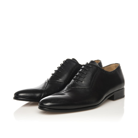 Oxford Cap Toe Classic Shoe // Black (Euro: 39)