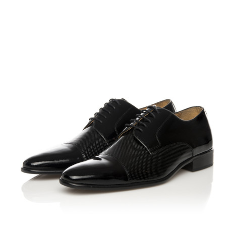 Francis Lace-Up Derby // Black (Euro: 39)