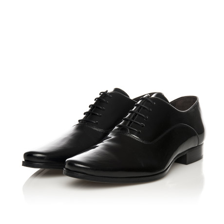 Plain Oxford Lace-Up Shoe // Black (Euro: 39)