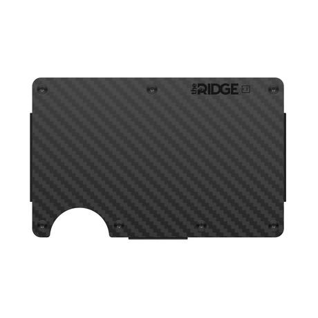 Carbon Fiber Pocket Wallet (Cash Strap)