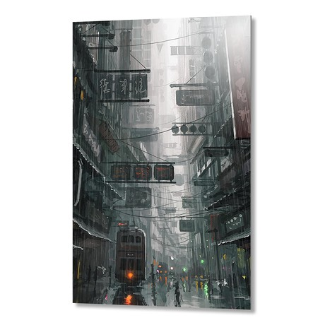 "The City (Artblock // 16""W x 20""H)"