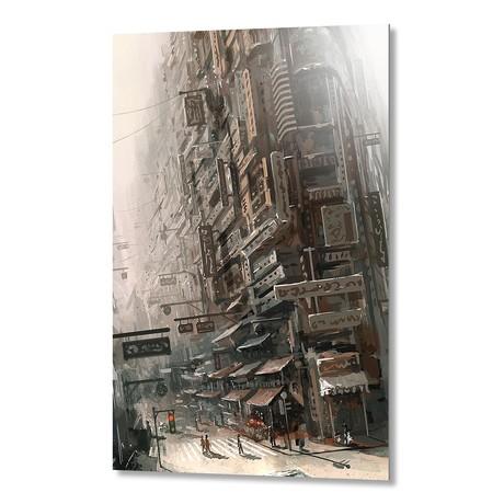 "Street (Artblock // 16""W x 20""H)"
