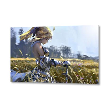 """Saber Lily (Artblock // 20""""W x 16""""H)"""