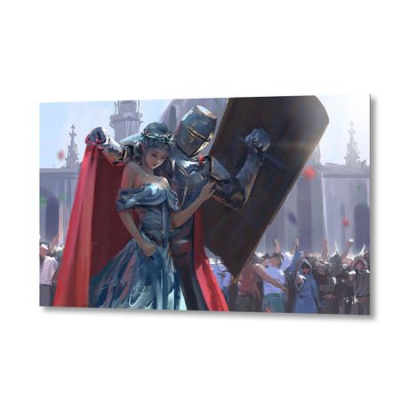 """Guard (Artblock // 20""""W x 16""""H)"""