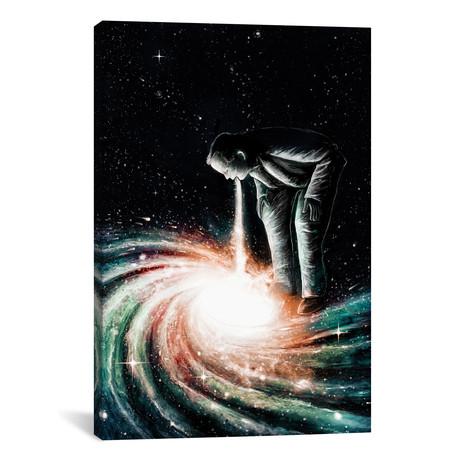 "Cosmic Vomit (26""W x 18""H x 0.75""D)"