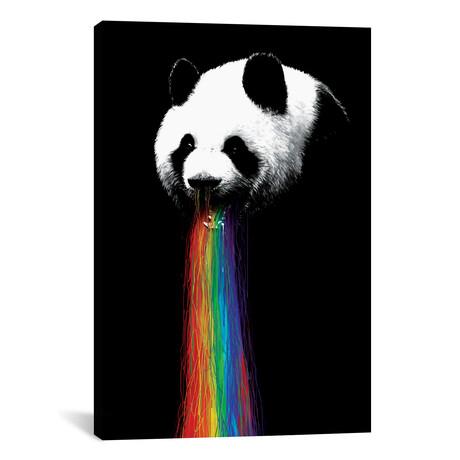 """Pandalicious (26""""W x 18""""H x 0.75""""D)"""