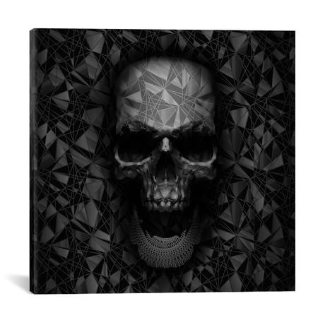 """Geometric Skull (18""""W x 18""""H x 0.75""""D)"""