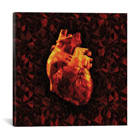 """Geometric Heart (18""""W x 18""""H x 0.75""""D)"""