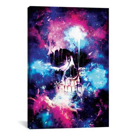 "Space Skull (26""W x 18""H x 0.75""D)"