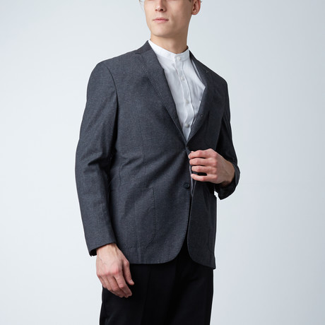 Pick Stitch Sport Coat // Charcoal (US: 36S)