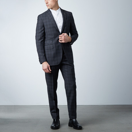 Notch Lapel Suit // Dark Gray Corduroy (US: 36S)