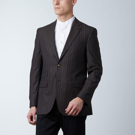 Sportcoat // Soft Brown Stripe (US: 36S)