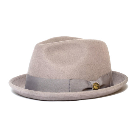 Good Boy Fedora // Taupe (S)