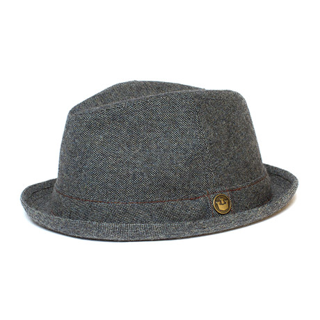 The Barber Fedora // Turquoise (S)