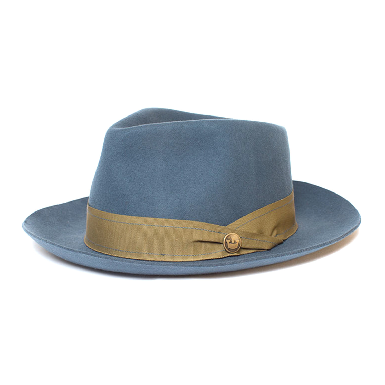 bd1d4214 Mr. Walker Fedora // Blue (M) - Clearance: Accessories - Touch of Modern
