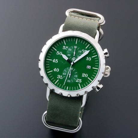 Peregrine Squadron Pilot Chronograph Quartz // PSA-CH-HP-3G // Unworn