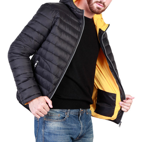 Darlington Jacket // Black + Yellow (S)