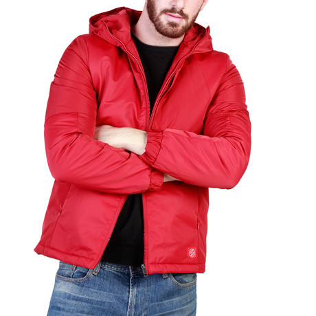 Greenwood Jacket // Red (S)