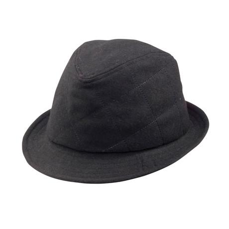 Huck Fedora // Black (S)