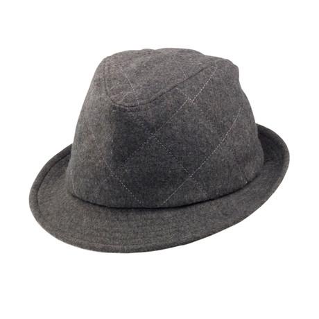 Huck Fedora // Grey (S)