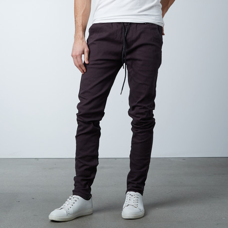 Rich V4 Jogger + Ankle Zip // Charcoal (S)