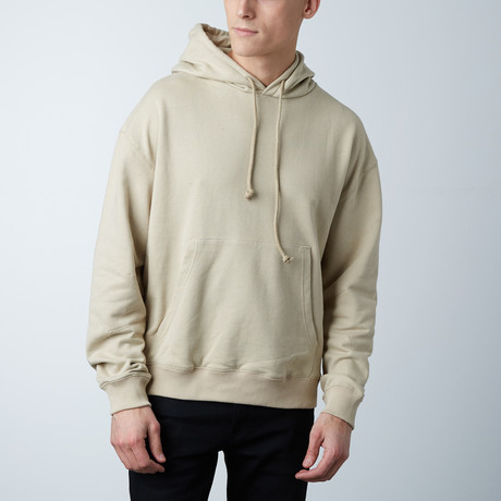 Oversized Hoodie // Sand (S)