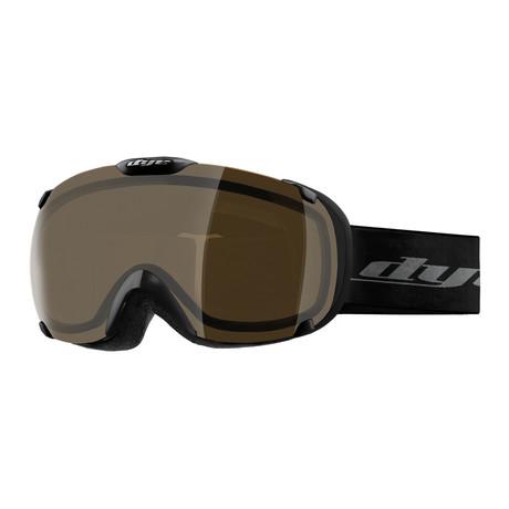 T1 Snow Goggle // Black // HD Lens