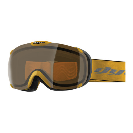 T1 Snow Goggle // Yellow // HD Lens