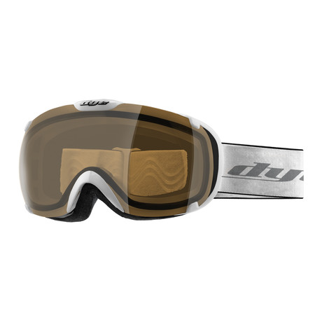 T1 Snow Goggle // White // HD Lens