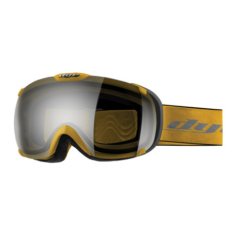 T1 Snow Goggle // Yellow Smoke Silver // 2 Lens Pack