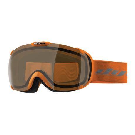 T1 Snow Goggle // Orange // 2 Lens Pack