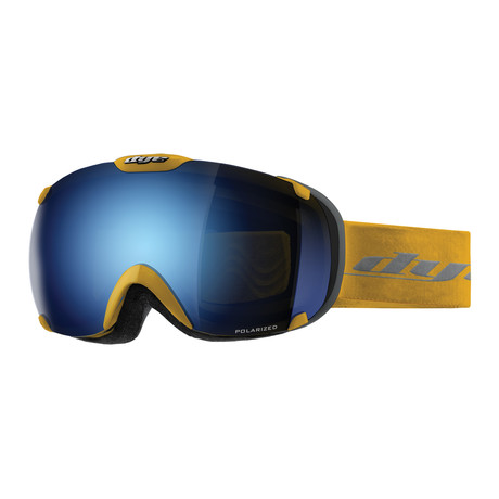 T1 Snow Goggle // Yellow Blue Ice Polarized // 2 Lens Pack