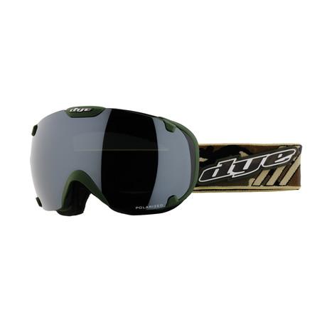 T1 Snow Goggle // Camo Polarized // 2 Lens Pack
