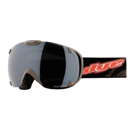 T1 Snow Goggle // Black/Orange Polarized // 2 Lens Pack