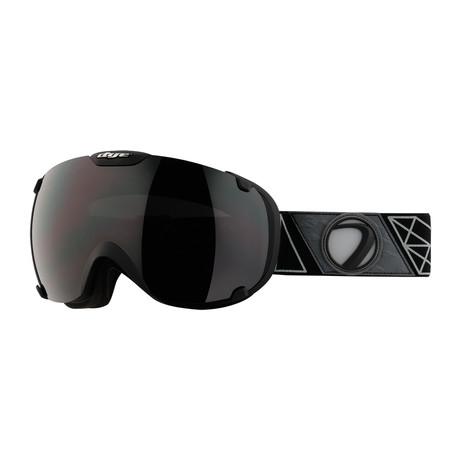 T1 Snow Goggle // Sirmiq Black // Jet Black Lens