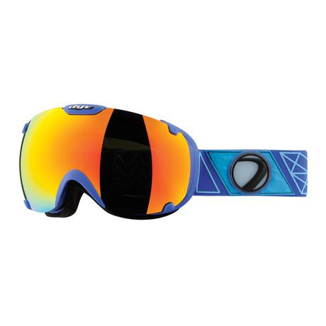 T1 Snow Goggle // Sirmiq Blue // Bronze Fire Lens